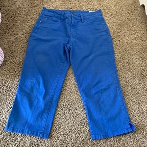 Not your daughters jean crops size 6